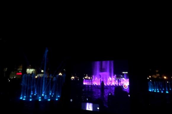 tańczące fontanny