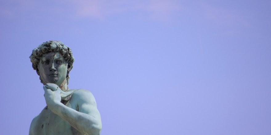 Dawid, Piazzale Michelangelo