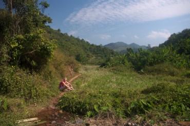 Laos treking, obszar chroniony Nam Ha