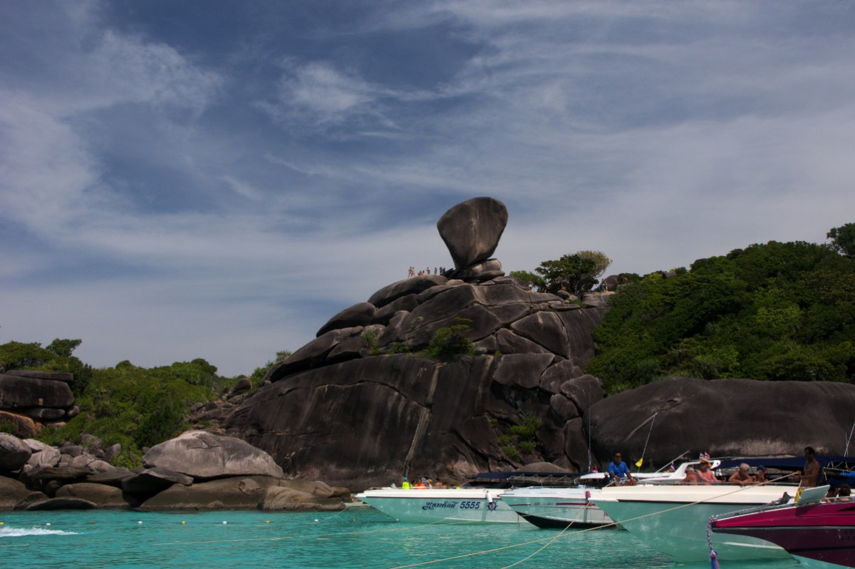9 rajskich wysp - Similan Islands, Tajlandia