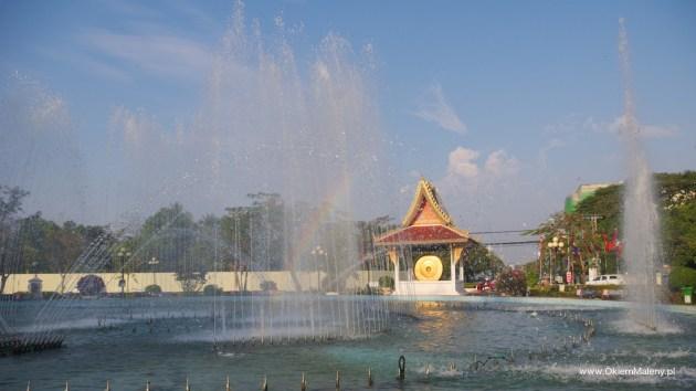 okolice łuku triumfalnego, Laos