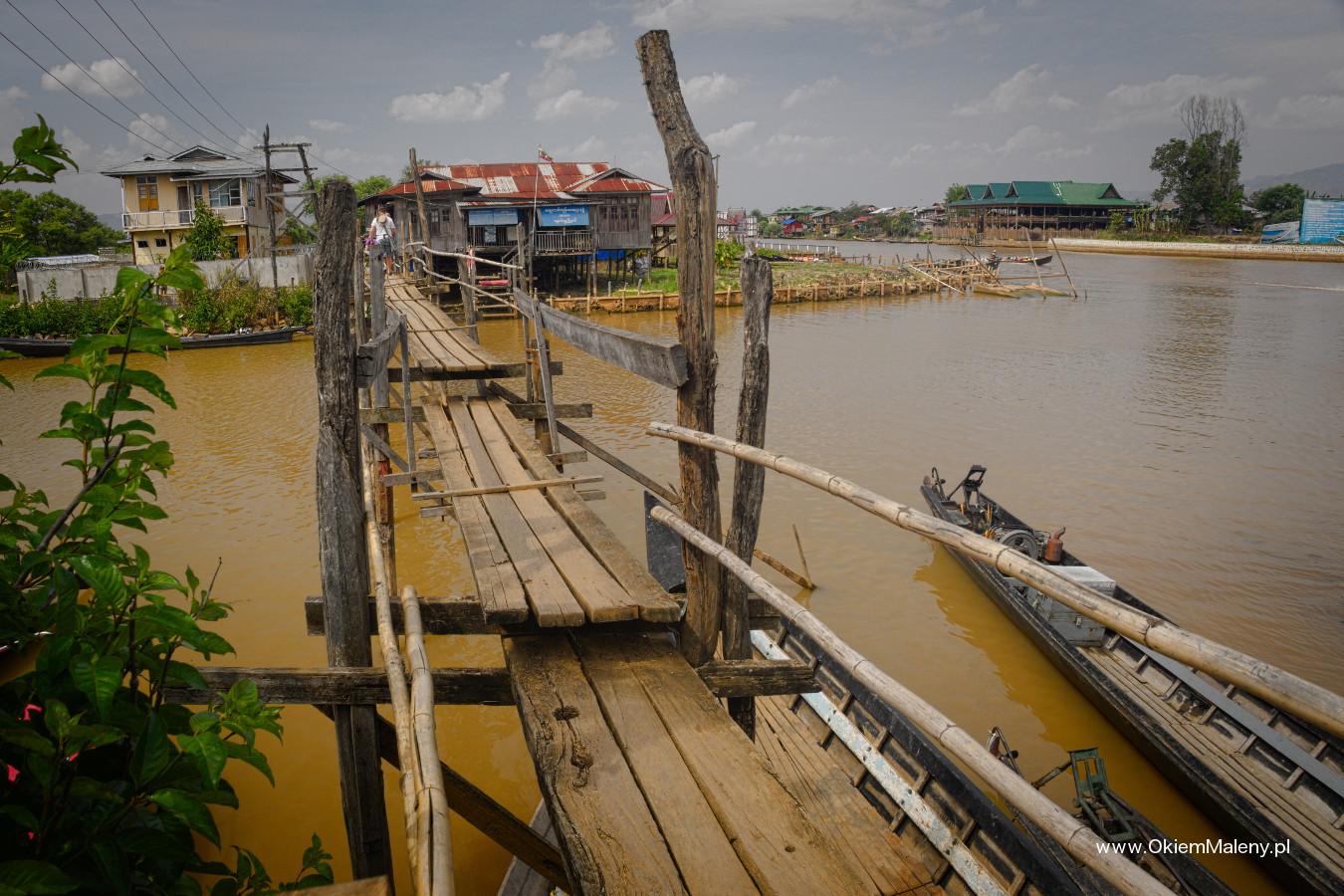 most przez, który przechodzi się z duszą na ramieniu