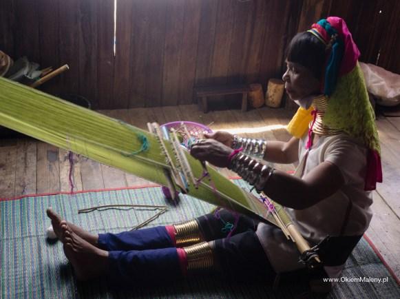 kobieta z grupy etnicznej Padaung
