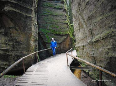 labirynty między skałami, Adrszpach
