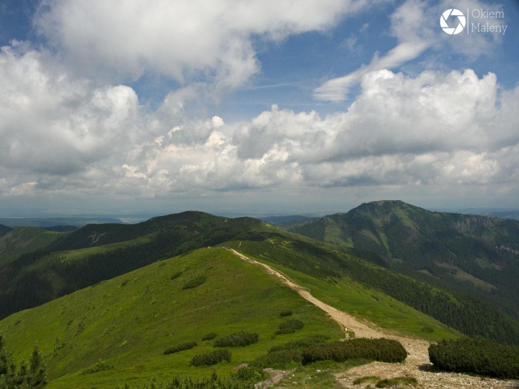 trasa z Grzesia na Rakoń, Tatry