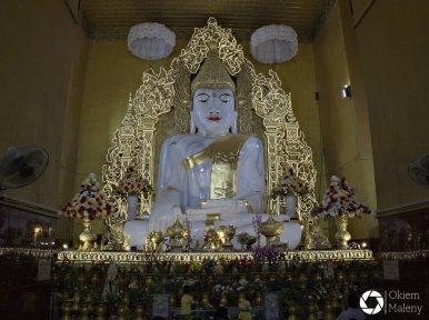 Mandalaj Okiem Maleny Birma Kyauktawgyi Paya 2