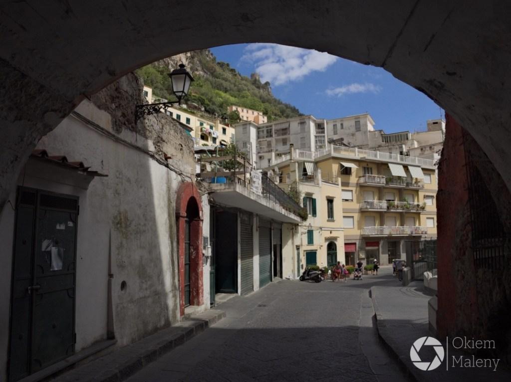 Uliczka w Amalfi