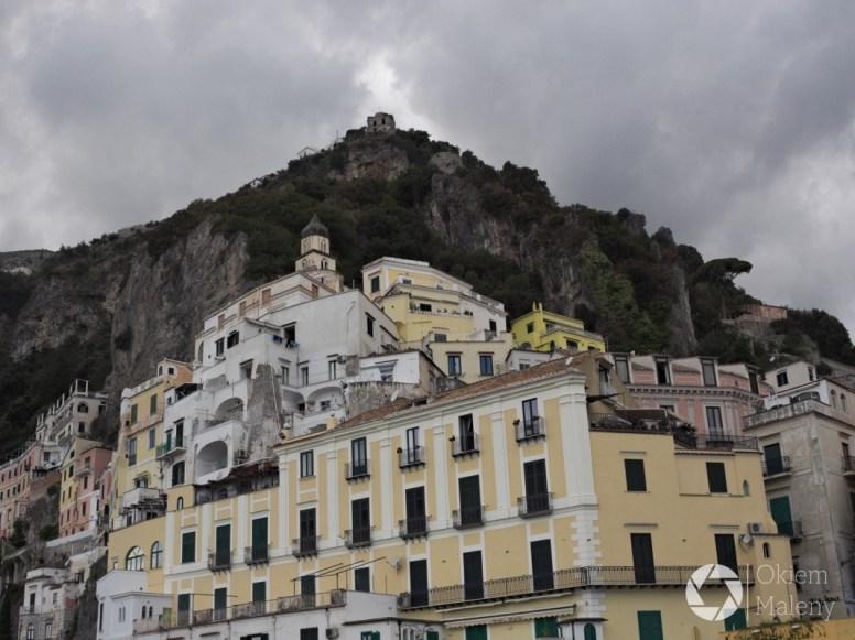 Amalfi - widok z portu