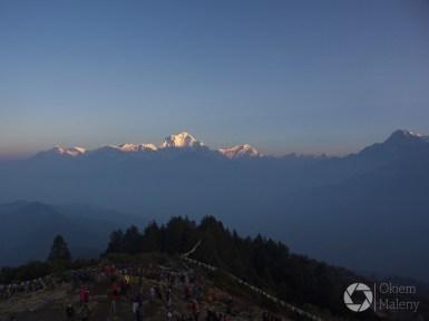 Poon Hill Nepal wschód słońca