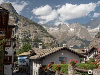 Courmayeur - alpejskie miasteczko