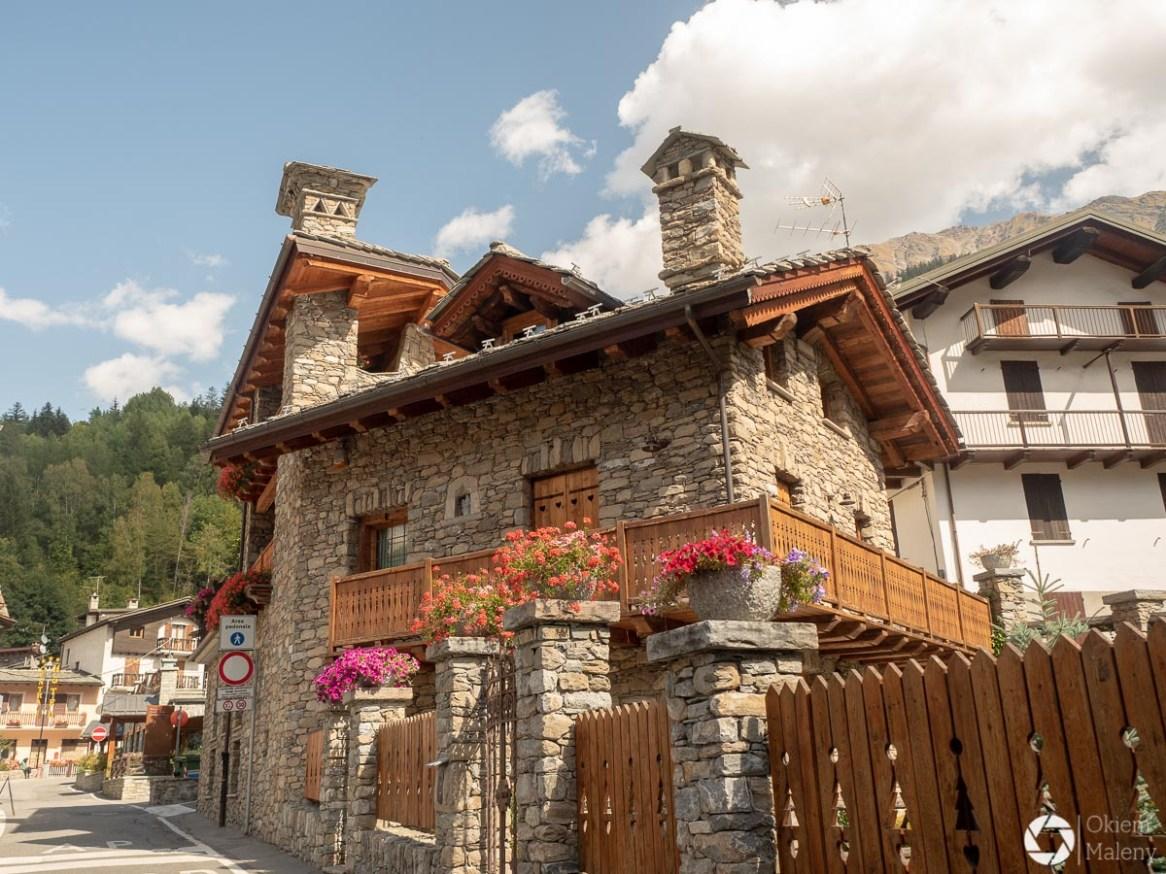 Courmayeur - miasteczko alpejskie