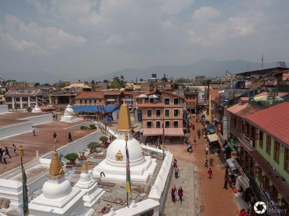 Buddhanath - mały Tybet, Katmandu, Nepal