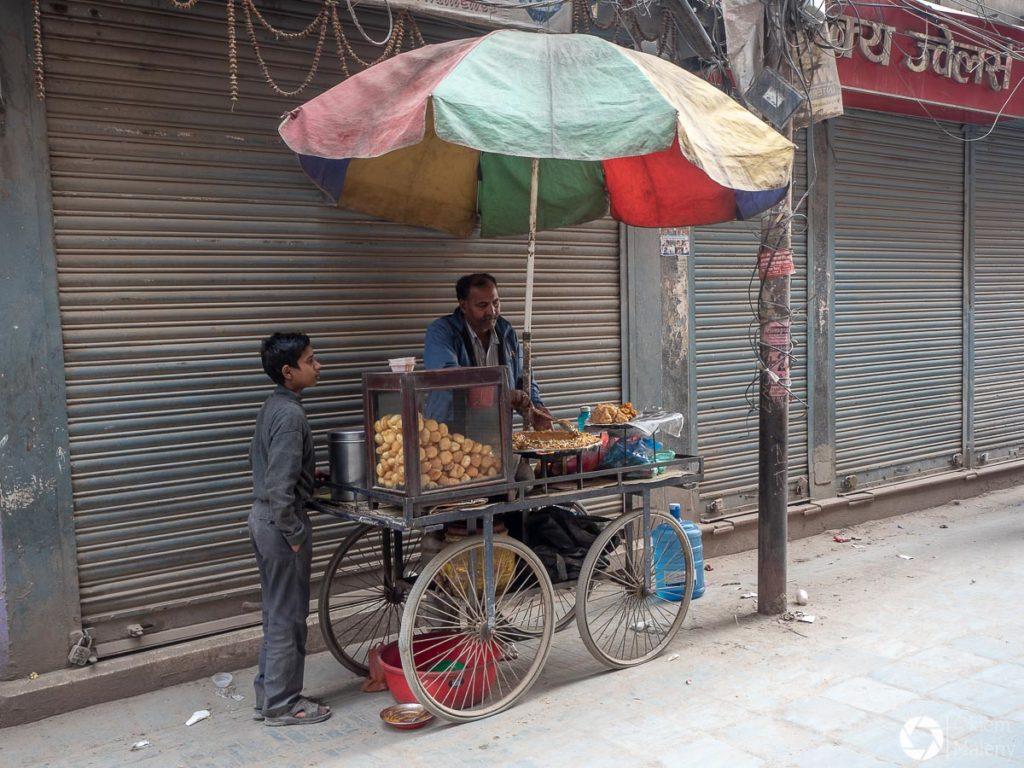 ulice Katmandu, Nepal