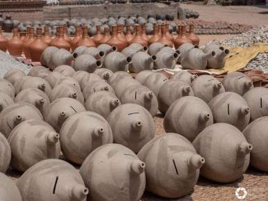 Bhaktapur, rynek garncarzy