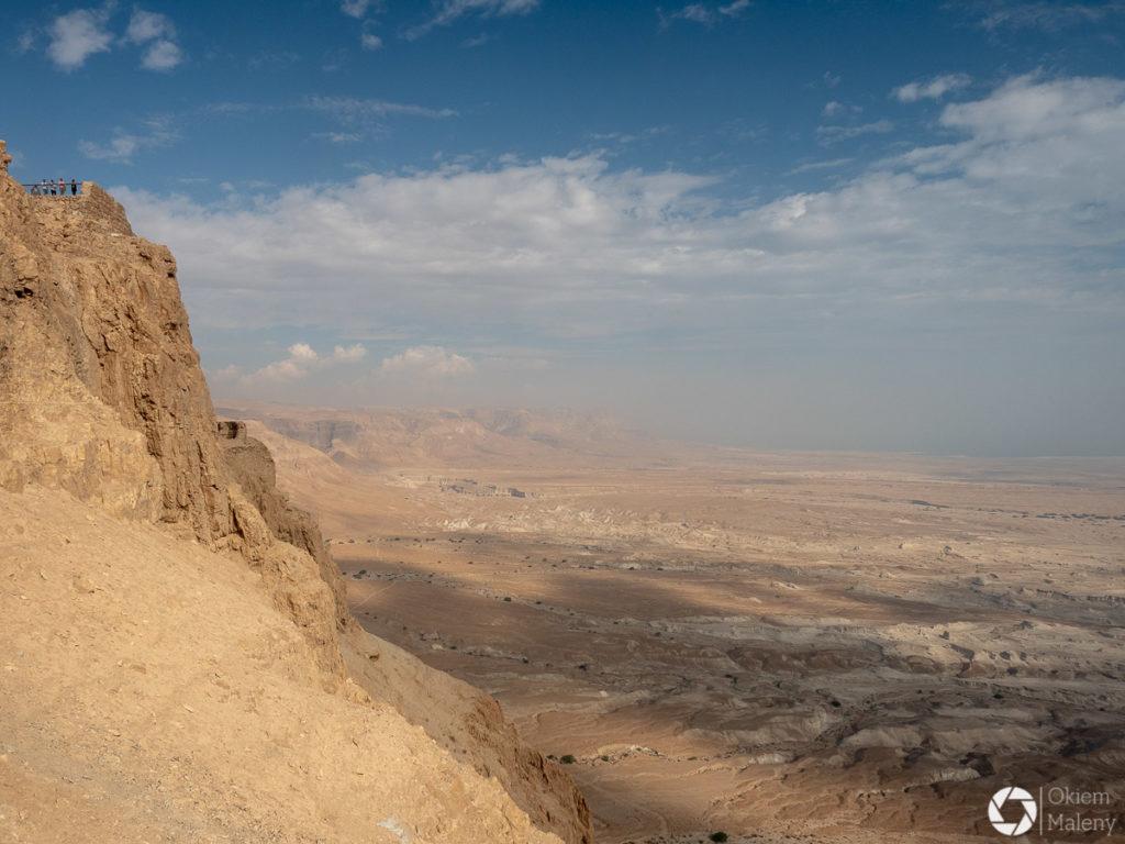 Widok z Masady na Pustynie Judzką