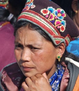 Kobieta z grupy etnicznej TamangJPG