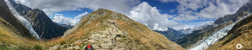 Montagne de la Cote Chamonix treking