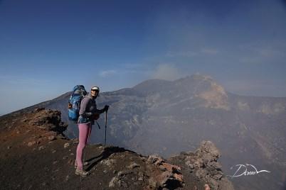 Etna. Krater centralny