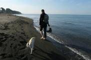 spacer nad Morzem Czarnym