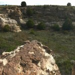 Panoramic view of the top