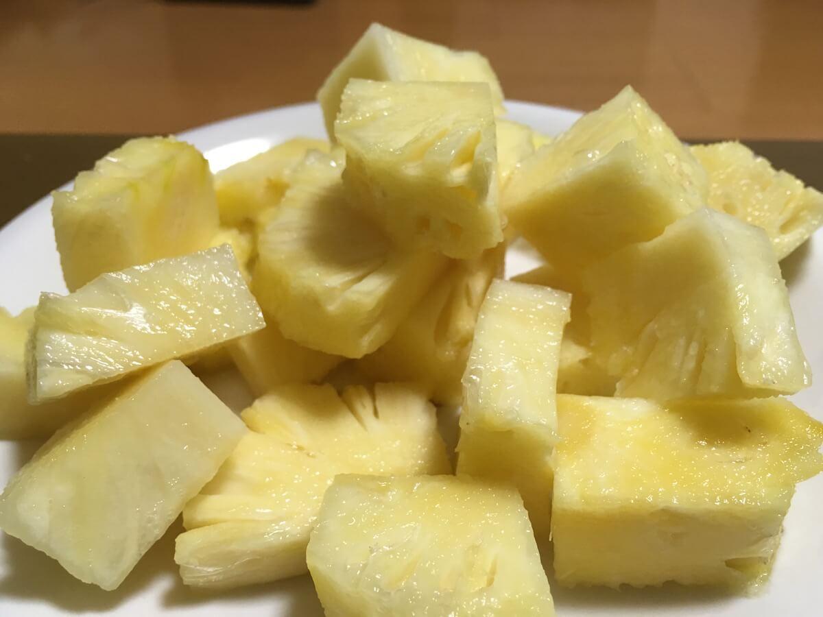 東村のパイナップル