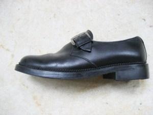 革靴の修理後