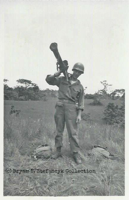 Handwriting on reverse of photograph reads: 'Okinawa 1945'. Photo Source: Bryan T. Stefancyk Collection.