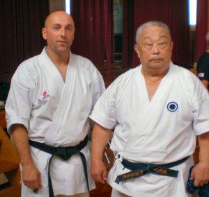 Glyn Jones Sensei and Onaga Sensei