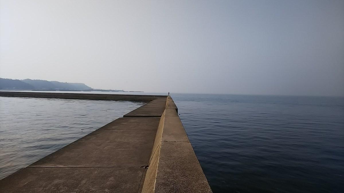 垂水新港で実釣してきました