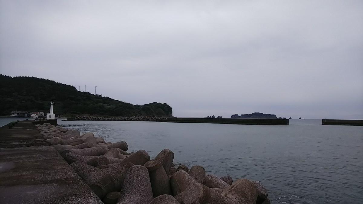 垂水新港で車が海に落ちていた