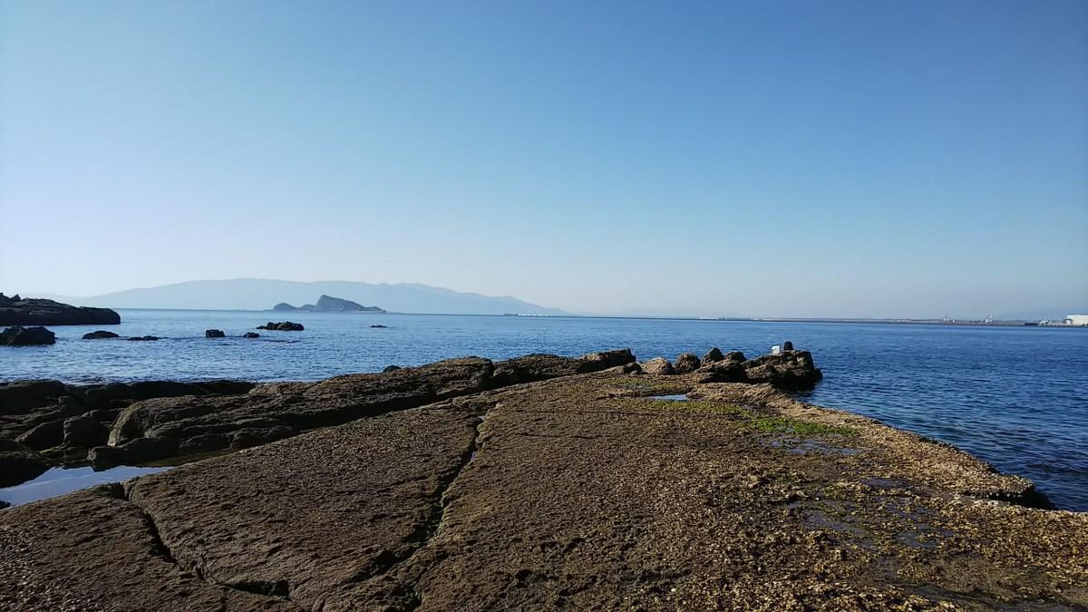 ダグリ岬地磯でジグを投げてきました