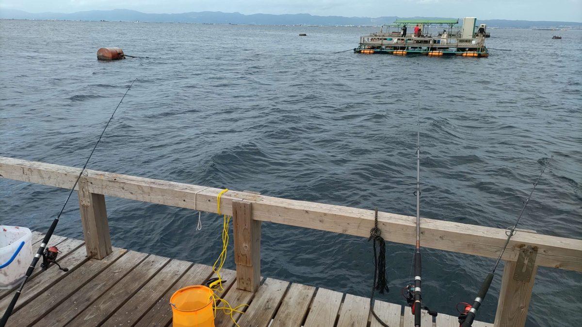 久しぶりの釣り筏