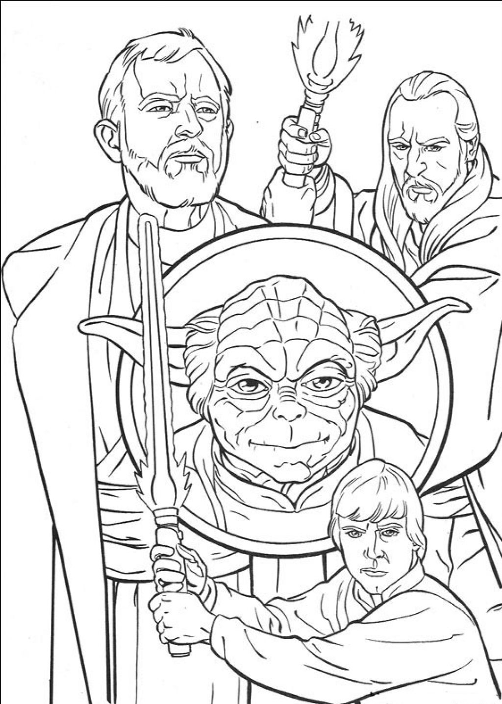Star Wars Characters Coloring Pages Gallery