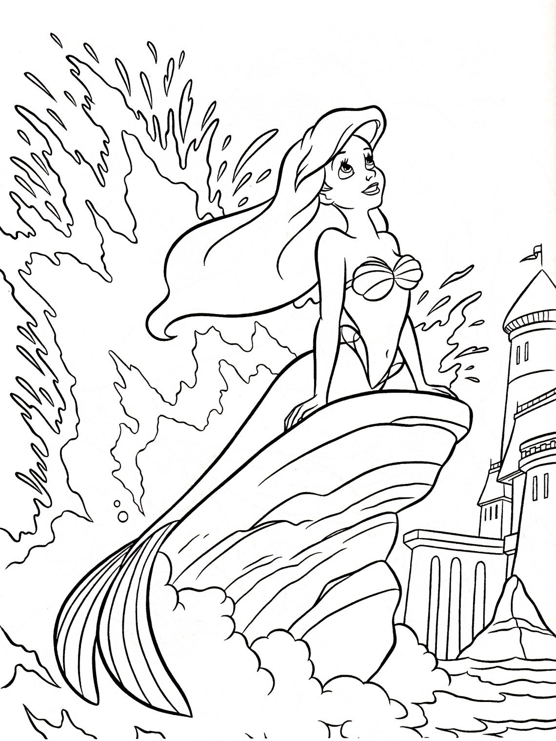 Walt Disney World Coloring Pages Gallery | Free Coloring ... | colouring pages disney