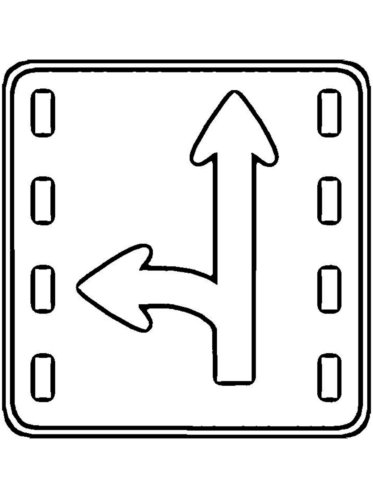 Safety Sign Pages Coloring Pages