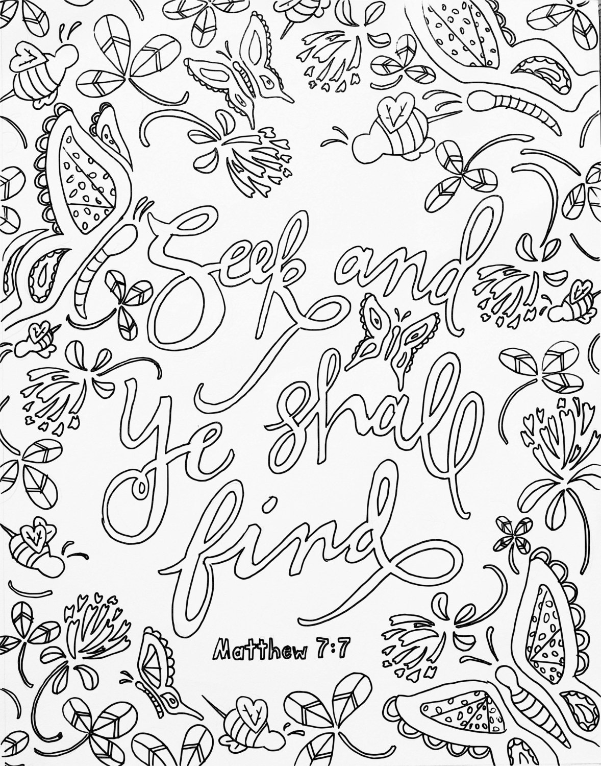 Top Printable Bible Coloring Pages With Verses