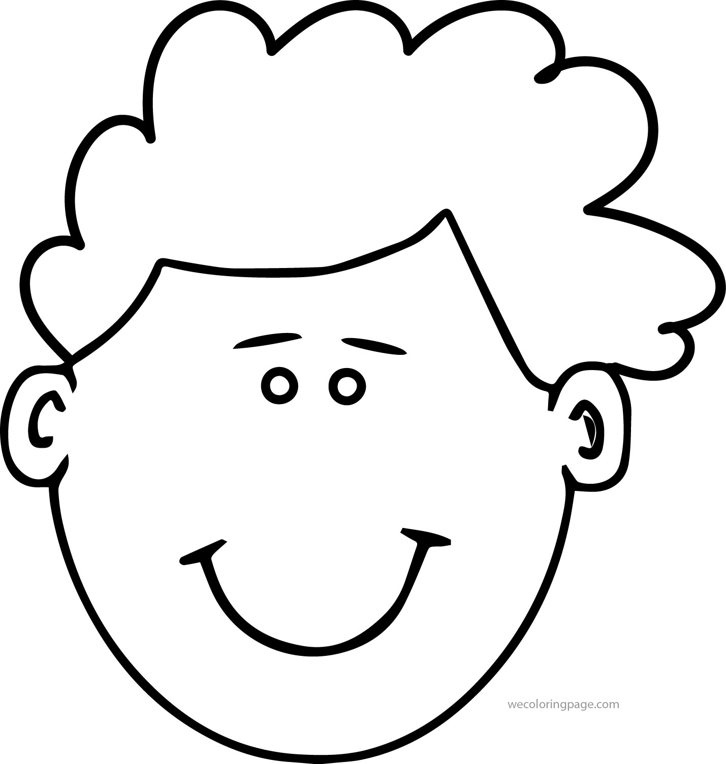 Smiling Coloring Pages Collection