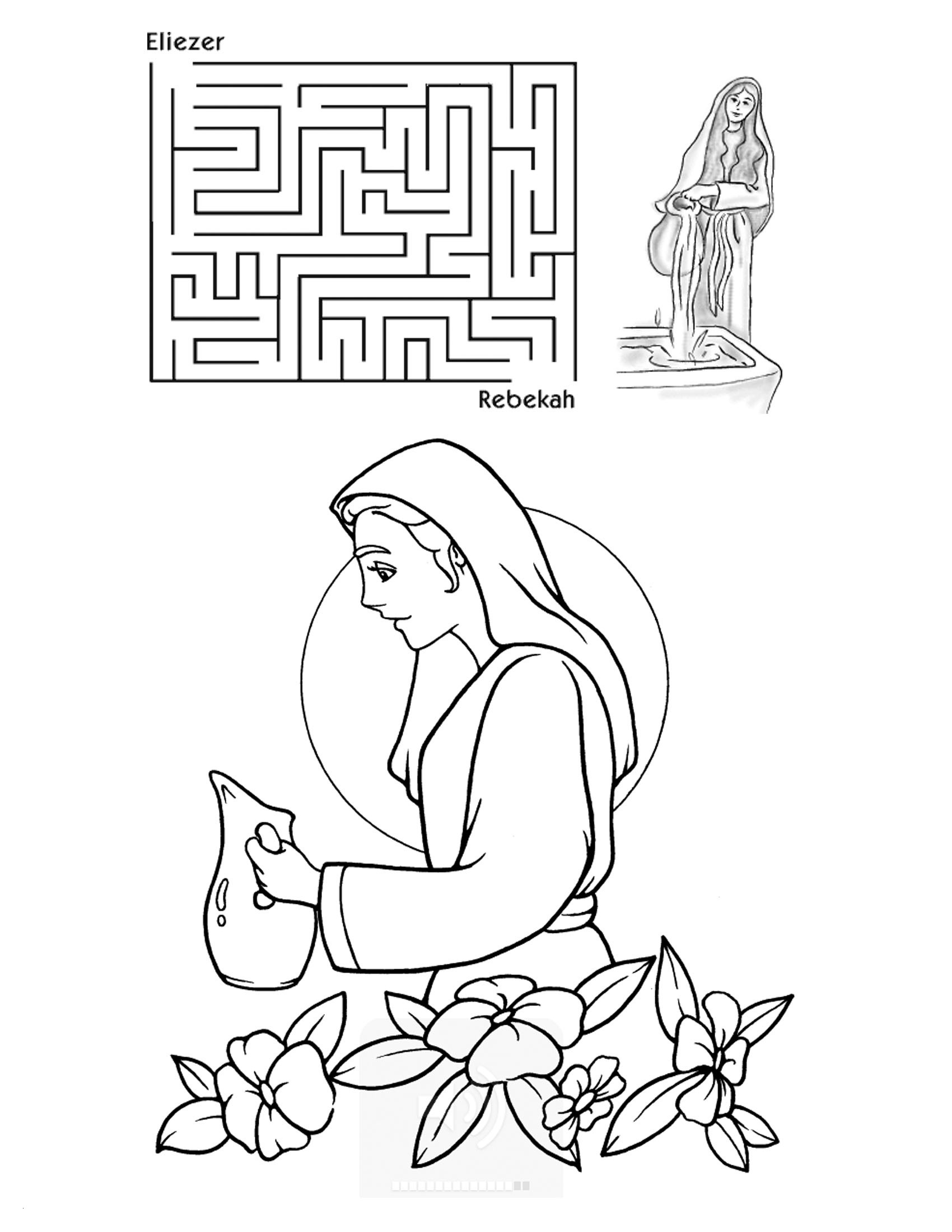 Cain And Abel Coloring Pages To Print