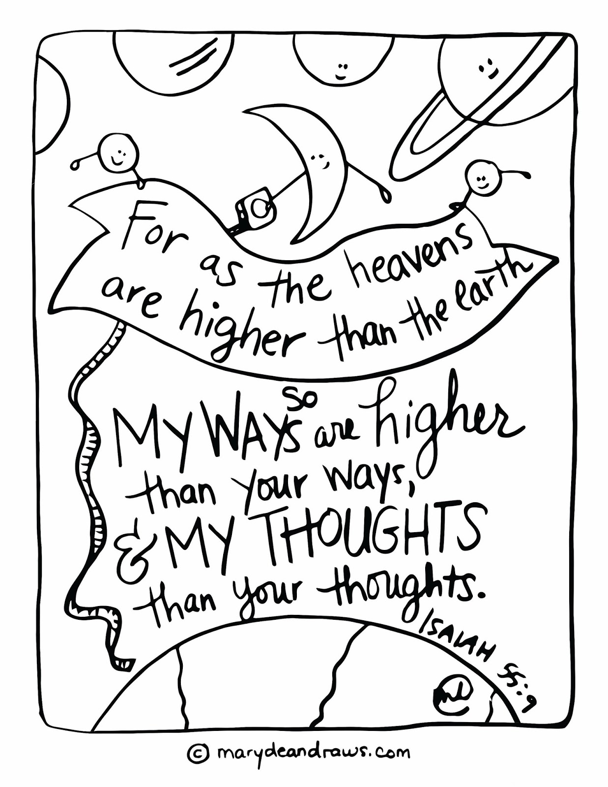 Isaiah Coloring Pages Gallery