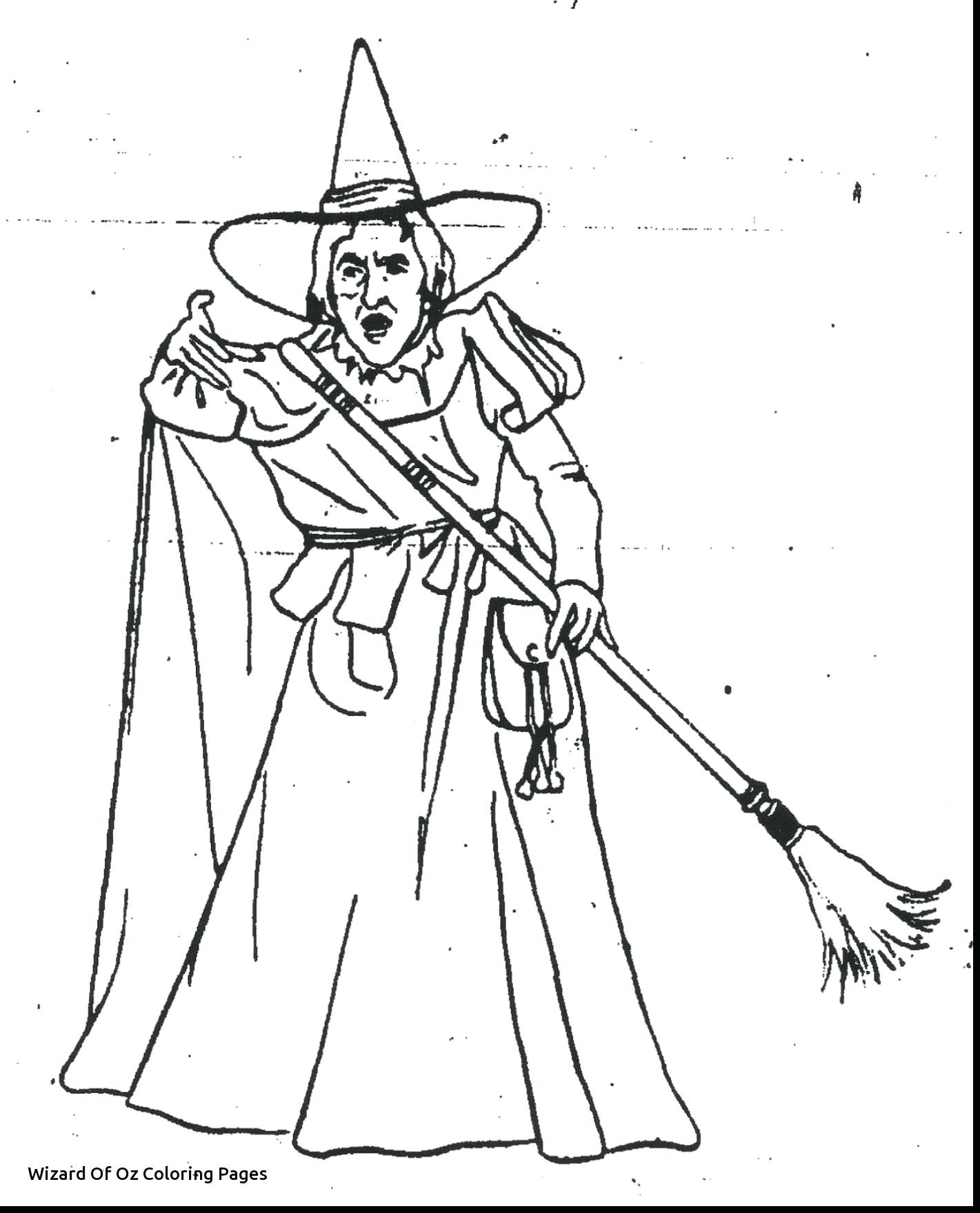 The Wizard Of Oz Coloring Pages Printable