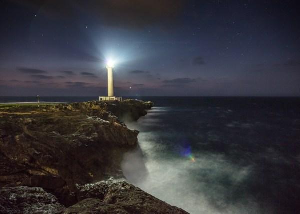 Photographing spaceships in Okinawa