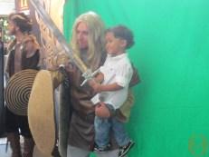 Cute kid with Viking Photoshoot