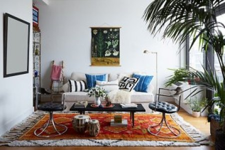 6 Easy Ways to Master the Layered Rug Look Shop hide rugs