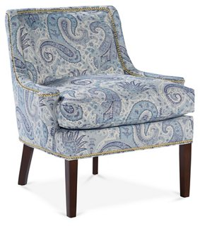 ... Hayden Armless Chair Velvet with Nailheads Possible game music room chairs Navy Home decorating Pinterest Room Living rooms and Slipper chairs Leather ...  sc 1 st  4K Pictures & teal and gold accent chair teal background teal background » 4K ...
