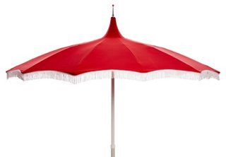ari pagoda fringe patio umbrella red white