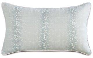 evie mist 13x22 outdoor lumbar pillow light blue white