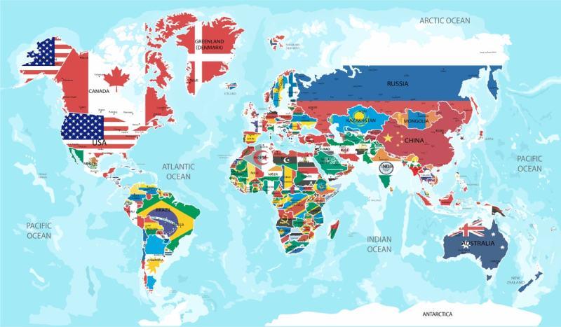 Проекции России на фоне других стран. Реальные размеры территории стран мира, интерактивная карта, сравнение размеров стран/ Разместим проекции России на фоне других стран, а так же континентов и посмотрим, какие реальные размеры самой крупной по площади страны на планете. Интерактивная карта для сравнения реальных размеров любых стран.