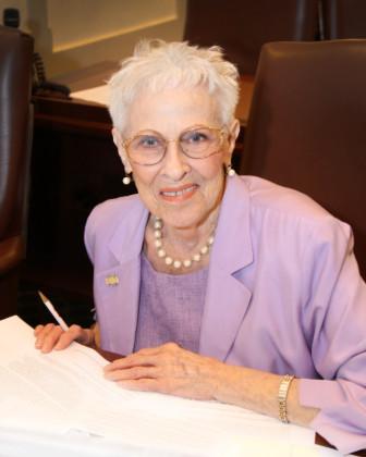 The late Rep. Sue Tibbs, R-Tulsa