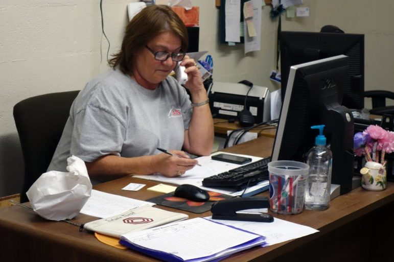 Sharon Arnett, a dispatcher at the Eufaula KATS office, says the transit organization is often used by individuals to access mental health treatment.