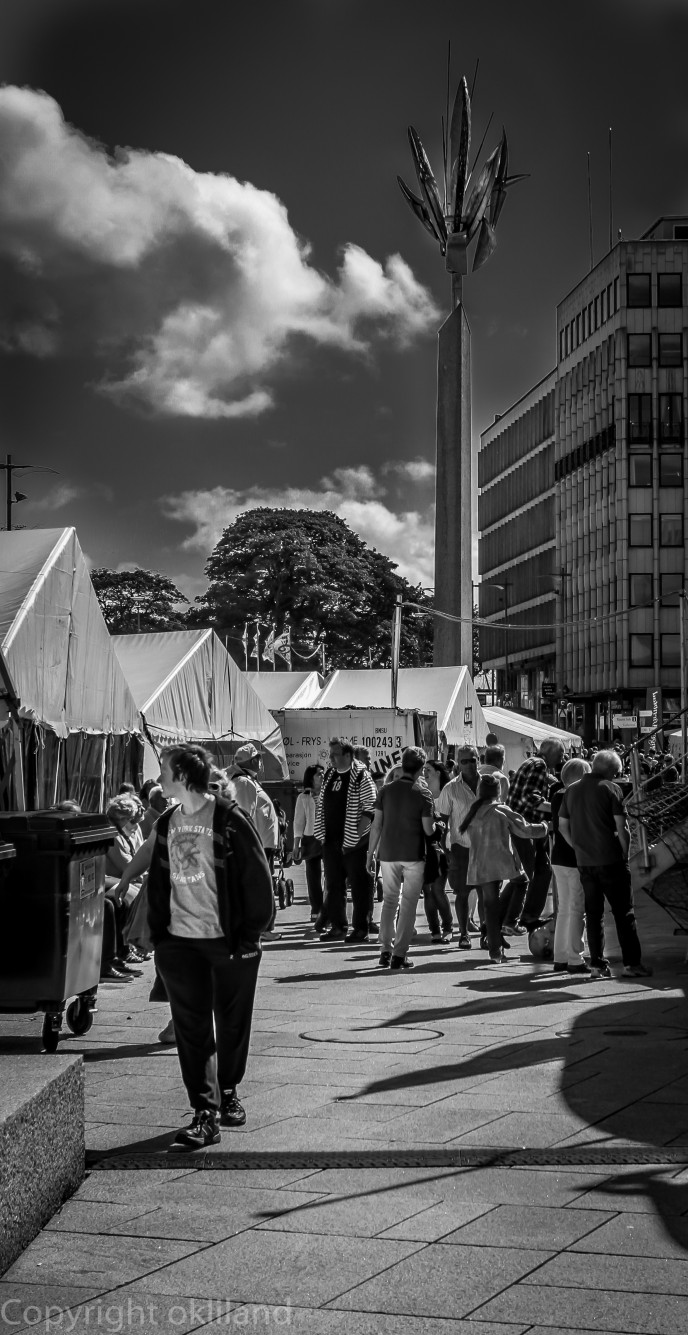 Stavanger sentrum Gladmat festivalen